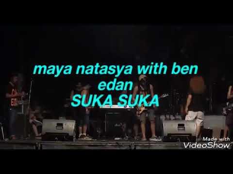 Maya natasya with ben edan live sumbersewu