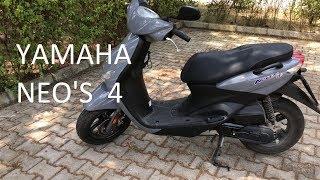 Yamaha Neos 4 50cc inceleme