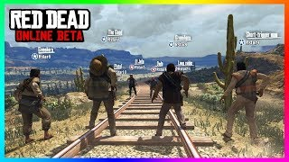 Red Dead Online - HUGE DETAILS! Release Date & Time CONFIRMED, NEW Features And Much MORE! (RDR2)