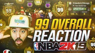 I GOT 99 OVERALL IN 2 MONTHS! HITTING 99 OVERALL WITH HANKDATANK! NBA 2K19