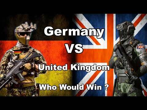 Germany VS United Kingdom Military Power Comparison   Who is More Powerful Germany or UK
