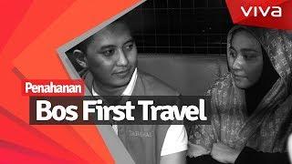 Masuk Sel, Bos First Travel Pakai Hijab Rp6,8 Juta!