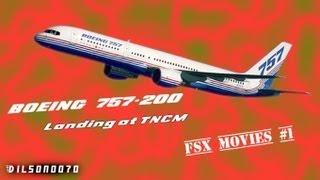 757-200WL United Airlines | Landing at TNCM (St.Maarten) | FSX Movie