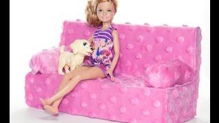 Как ЛЕГКО сделать диван для кукол Монстер Хай и Барби