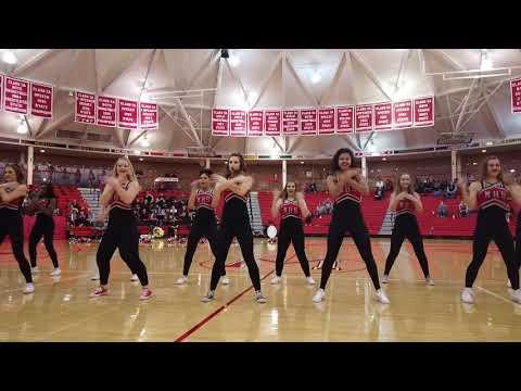 McPherson High School HiSteppers @ Girls Tournament 1-26-19