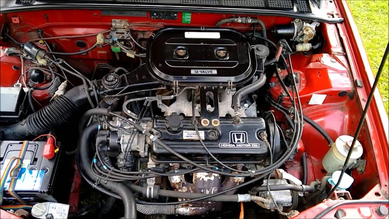 Motors For 1989 Honda Accord 89 Lxi Belt Diagram 4 Door Generation Test Youtube 1280x720