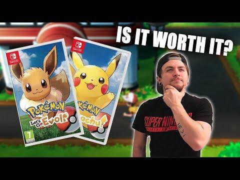 Pokemon Let's Go Nintendo Switch Review -...