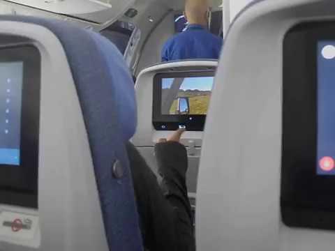 Primer vuelo boeing 787 800 dreamliner air europa entre for Interior 787 air europa