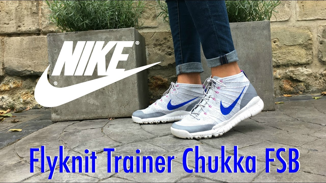official photos 83a9f 812ca Nike Flyknit Trainer Chukka FSB review - LIGHTNING  5