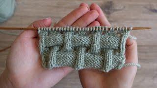 Объёмный узор спицами под Клоке | Knitting pattern as Kloke sticthes