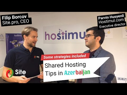 Shared Hosting Tips in Azerbaijan