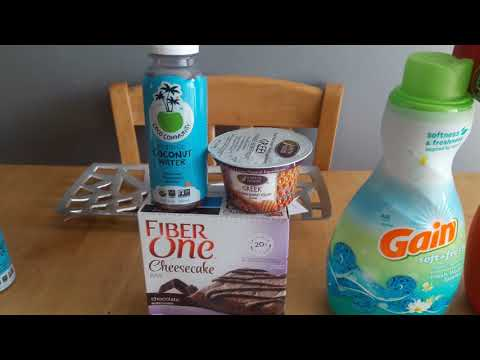 My coupon day with my son David at dollar general and jewel osco 8/12/17