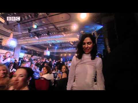 Watch PJ Harvey win the Mercury Prize 2011