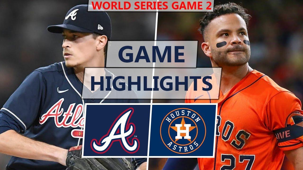 Atlanta Braves vs Houston Astros Highlights  World Series Game 2 2021