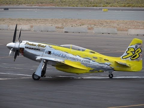 Precious Metal P-51D (XR) Mustang 2013 qualifying run