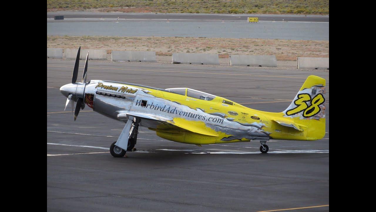 Precious Metal P-51D (XR) Mustang 2013 qualifying run