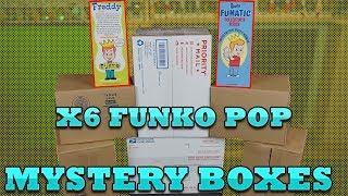 Funko Pop Mystery Box x6!