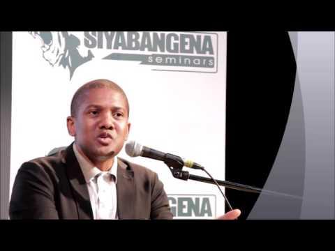 Clive Manci speaks at Siyabangena Seminars