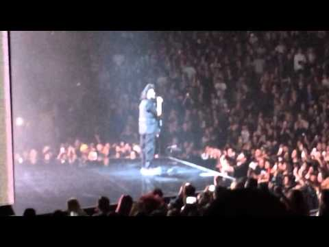 The Weeknd As You Are Outro Live Toronto (The Madness Fall Tour) 11/03/2015