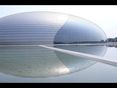 National Grand Theater of China | Paul Andreu | Beijing, China | HD