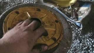 ремонт зчеплення мотоблока зубр міні трактора