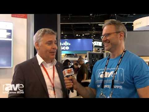 InfoComm 2015: Corey Moss Speaks with Neil Wittering of Barco About the ClickShare Collaboration
