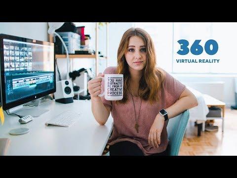 Desk Tour in 360 - Virtual Reality