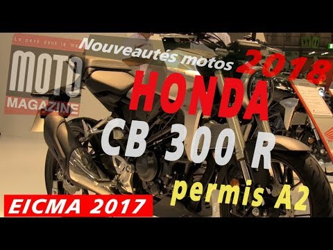 honda cb 300 r nouveaut 2018 pr sent e au salon de milan eicma 2017 youtube. Black Bedroom Furniture Sets. Home Design Ideas