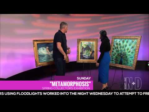 "Contemporary Tetrachromist Artist, Concetta Artico talks about ""Metamorphosis"