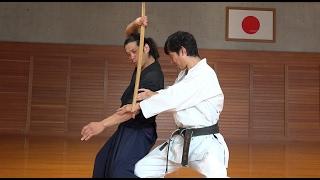 異種武道対決を本気で考えてみた映像 Karate meets Samurai and Jiu-jitsu