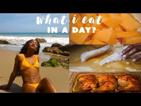 WHAT I REALLY EAT IN A DAY!  Tatyana Ali
