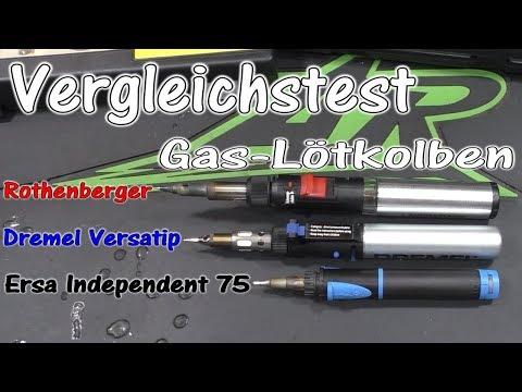 Vergleichstest: Gas-Lötkolben Ersa/Dremel/Rothenberger | Test | HD+ | Deutsch