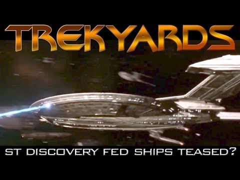ST: Discovery Federation Fleet Teased! - Trekyards Analysis