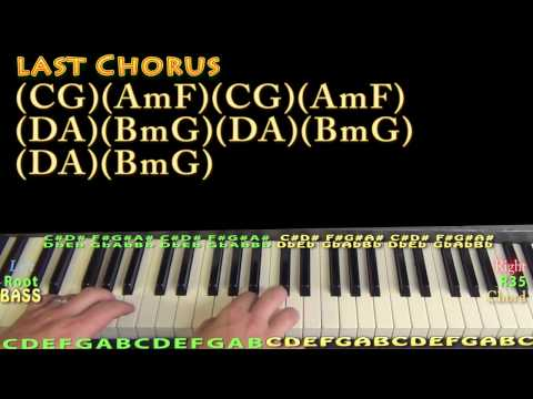 Piano urban piano chords : John Cougar, John Deere, John 3:16 (Keith Urban) Piano Lesson ...