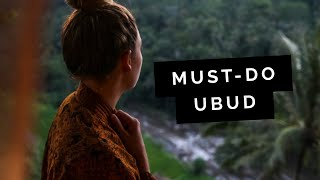 MUST Do: UBUD Travel Guide | Little Grey Box
