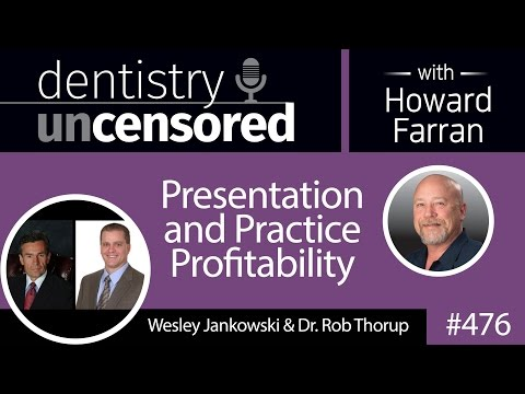 476 Presentation and Practice Profitability with Wesley Jankowski and Rob Thorup