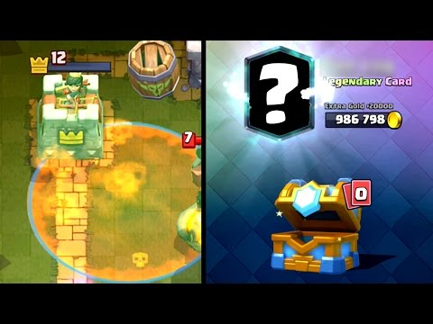 Thumbnail: Clash Royale - CLAN BATTLE CHEST LEGENDARY!