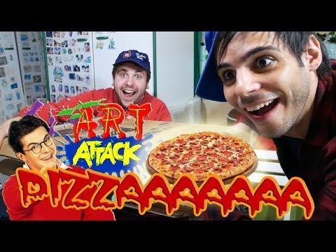 Questo è...ART ATTACK!!!!! - Una Pizza Succulenta!