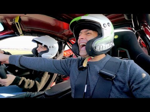 Chris Harris and Vicky McClure Lap  Top Gear: Series 25