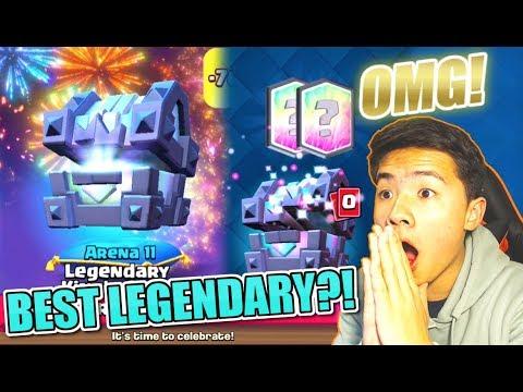 BEST LEGENDARY IN THE GAME UNLOCKED! | LEGENDARY KINGS CHEST OFFER! | Clash Royale