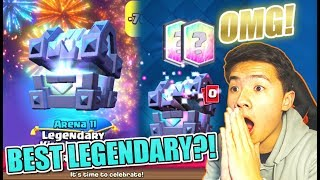 BEST LEGENDARY IN THE GAME UNLOCKED! | LEGENDARY KINGS CHEST OFFER! | Clash Royale