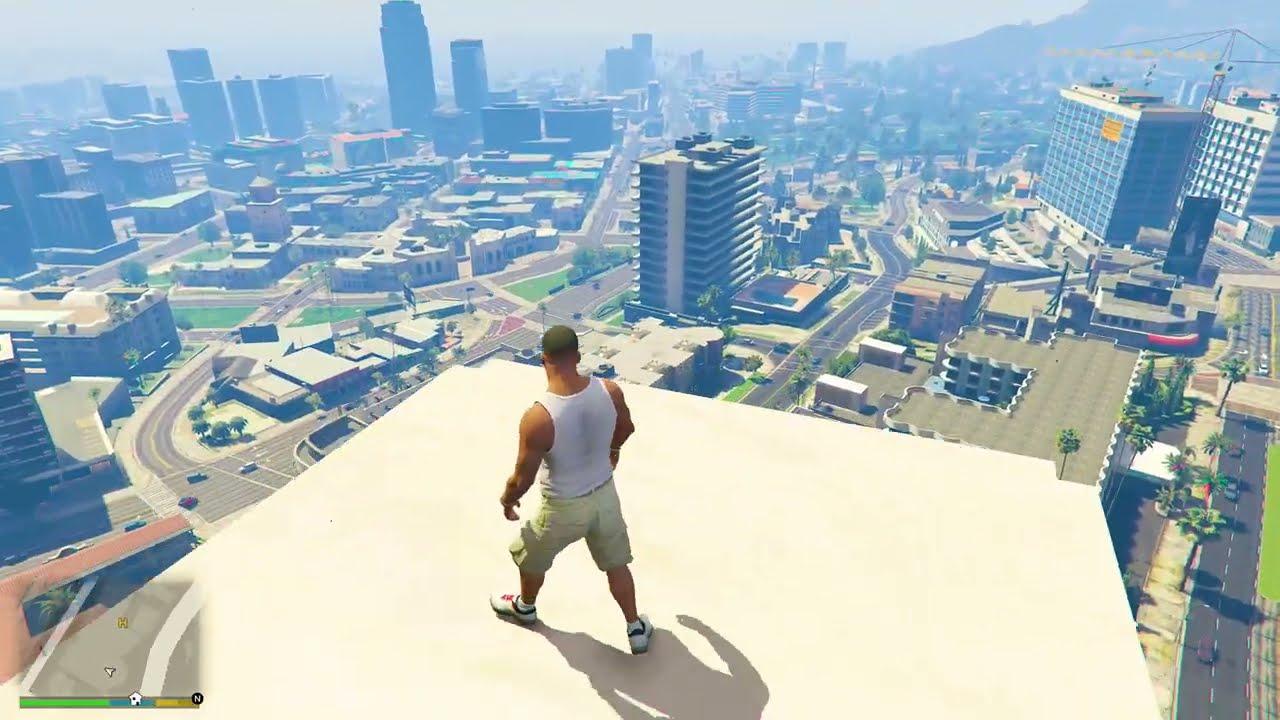 GOD Hulk Vs BIG King Kong Destroys LOS SANTOS In GTA 5