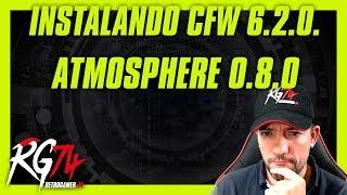 CFW 6.2.0 Atmosphere 0.8.0