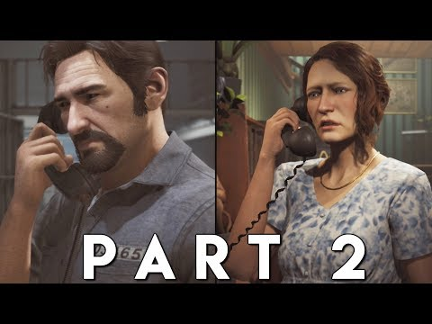 A WAY OUT Walkthrough Gameplay Part 2 - SHAKEDOWN (PS4 Pro)
