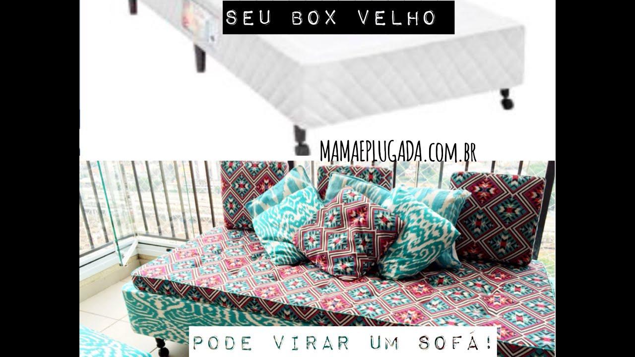 Diy interior design cama box em sof estiloso tutorial for Sofa bed uma