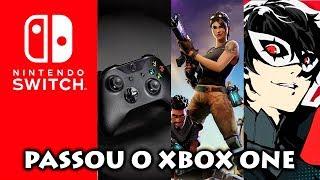 Nintendo Switch ultrapassa Xbox One na Espanha | Fortnite e Persona 6 podem vir para o console