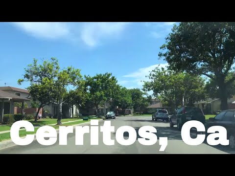 🔴  Cerritos California Realtor Driving Tour 4K