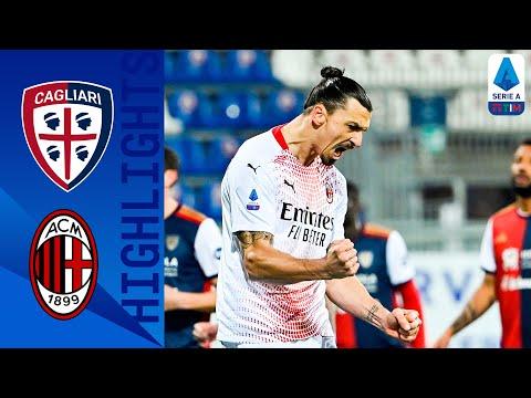 Cagliari 0-2 Milan   Ibra firma la doppietta, Milan di nuovo in cima alla classifica   Serie A TIM