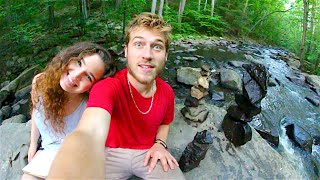 HIKING AND ROCK STACKING!
