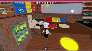 Roblox la Pizzeria partie 1